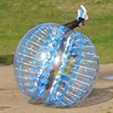 Holleyweb Bubble Football Suits Dia 5' (1.5m) Bubble Soccer Equipment Human Inflatable Bumper Bubble Balls
