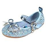 YOSICIL Infantil Zapatos Frozen Elsa Antideslizante con Velcro Disfraz Elsa...