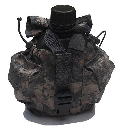 Diverse Feldflasche mit US Army Flaschentasche at-Digital, Kocher und passendem Feldflaschenbecher im Set