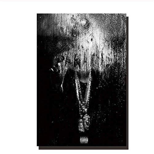nr Big Sean Dark Sky Paradise Sänger Kunst Poster Kunst Bilder Dekoration Druck Leinwand Bild-50x70cmx1 Rahmenlos