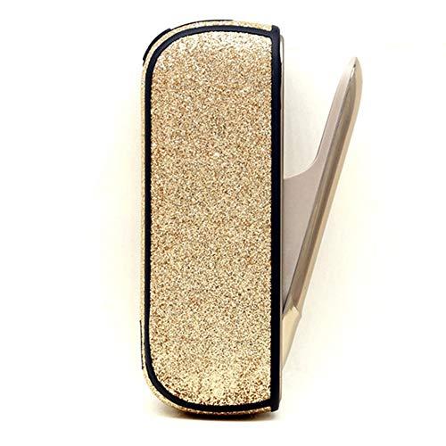 DrafTor E Zigarette Tasche fr 3.0, Gute Qualitt TPU Zigarettenetui 3 Tasche(nur Tasche)(Gold)