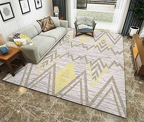 alfonbras de dormitorios alfombra para salon Sala de estar alfombra gris rectangular...