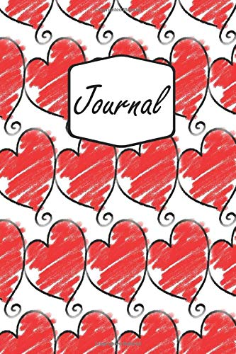 Journal: Valentin's Day Notebook | Hearts, Love And Kisses | For Girls And Boys | For Work And School (6x9 inch | lined paper | Soft Cover | 100 Pages)