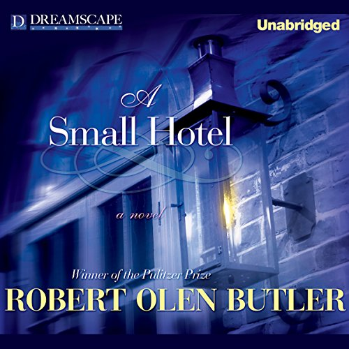 A Small Hotel audiobook cover art