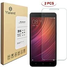 [2 Pack] Xiaomi Redmi Note 4 Screen Protector 5.5 Inch, Tempered Glass Anti-Fingerprints Thin 9H Screen Hardness Screen Protector for Xiaomi Redmi Note 4