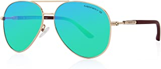 MERRY'S Classic Pilot Sunglasses Womens Polarized Mirror...