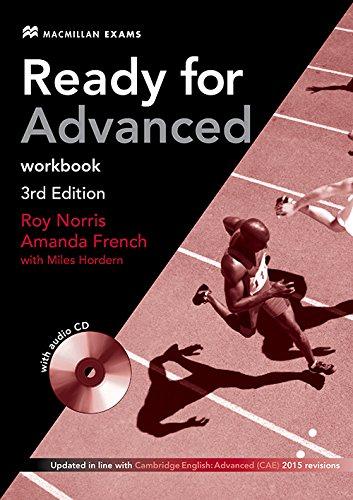 Ready For Adv 3rd Edit. Workbook W/Audio CD (No/Key)