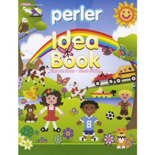 Perler Bead Patterns and Idea Book for Kids Crafts, 24 pgs