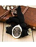 MARRY Damenuhr Armbänder Für Frauen Mode Niedliches Armband Weibliche Uhr Stoff Wickel Armbanduhr Geschenk Für Männer Uhr, Bk