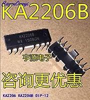 10pcs / lot KA2206B KA2206 DIP-12在庫あり