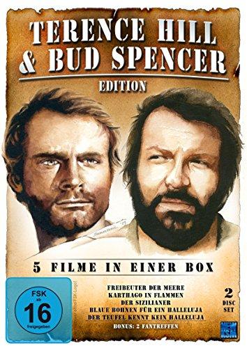Terence Hill & Bud Spencer Edition (Freibeuter Der Meere/Karthago In Flammen/Der Sizilianer/Blaue Bohnen für ein Halleluja/Der Teufel kennt kein Halleluja) [2DVD]