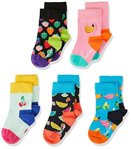 Happy Sokken Baby Kids Fruit Gift Box Sokken (Pak van 5)