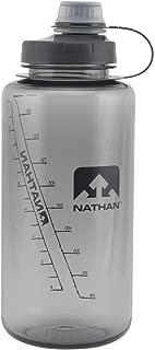 Nathan Sports Water Bottle, BPA Free Water Bottle, 32oz Water Bottle, 32oz/ 1Liter