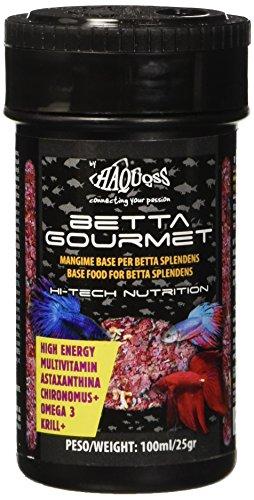 Haquoss Betta Gourmet Nourriture Naturelle pour bébé 100 ml/25 g