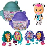 IMC Toys Cry Babies Magic Tears Muñecas Pequeñitas Bebés Llorones Casita