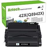 Aztech Compatible Toner Cartridge Replacement for HP 42X Q5942X Q1338A for HP Laserjet 4250 4200 4350 4300 4250N HP 4350N 4250TN 4250DTN 4350DTN 4350TN Toner (Black, 1-Pack)