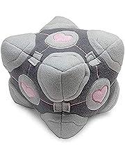 Bubugh plyschleksaker 15 cm förvärra Companion Cube Game bästa presentens officiella plyschgåva