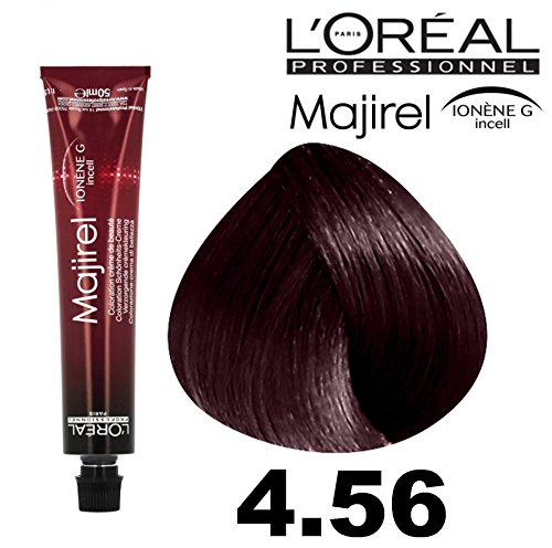L'Oreal, Majirel 4,56 – Châtain acajou rouge 50 ml.