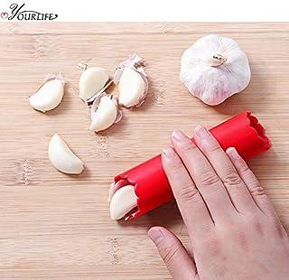 عصارة الثوم - مطبخ كرييتف سيليكون مقشرة الثوم متعدد الوظائف أداة تقشير الثوم اليدوية أدوات الطبخ اكسسوارات المطبخ