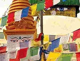 Tryforbest Tibetan Prayer Flag - Medium Traditional Design (10