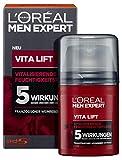 L'Oréal Men Expert Vita Lift Feuchtigkeitspflege, die Gesichtscreme für Männer mit hochdosierter Anti-Aging-Wirkung, sofortiger Anti-Augenringe- und Anti-Falten-Effekt