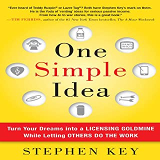 One Simple Idea audiobook cover art