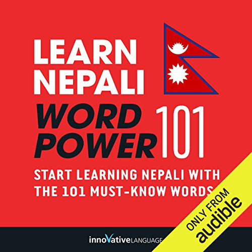 Learn Nepali - Word Power 101 audiobook cover art