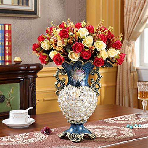 FYMIJJ Botellero Creativo,Florero de Resina Europea Frutero Tazon Cenicero Caja de panuelos Estante de Vino Adornos Hogar Salon Mesa Muebles Hotel Decoracion Artesanias, Style5