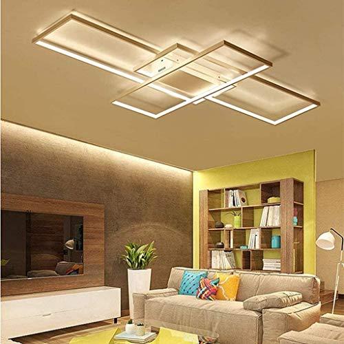 ZHANGL Nordic Modern LED Araña Iluminación Luz de techo Sala de estar Dormitorio Dormitorio Dormitorio Dormitorio Comedor Estudiar Habitación para niños Dimmable 3000K-6000K, Luz decorativa de techo c