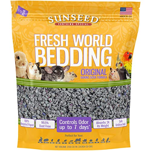 Sunseed 18222 Fresh World Bedding for Small Animals, Original...
