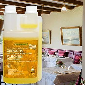 CLEANARA Le neutralisateur d'odeurs et de taches Pour une élimination fiable des odeurs désagréables Le concentré donne jusqu'à 25 litres de nettoyant prêt à l'emploi.