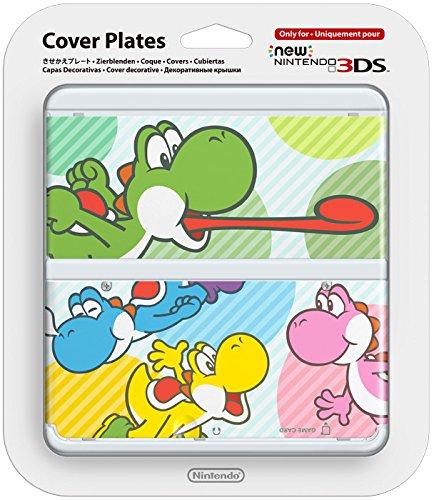 New Nintendo 3DS Zierblende 028 (Bunte Yoshis)