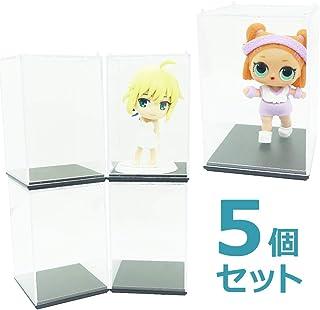 LUCINA コレクション ディスプレイケース L.O.L ドール 人形 フィギュアの収納に! (5個セット)