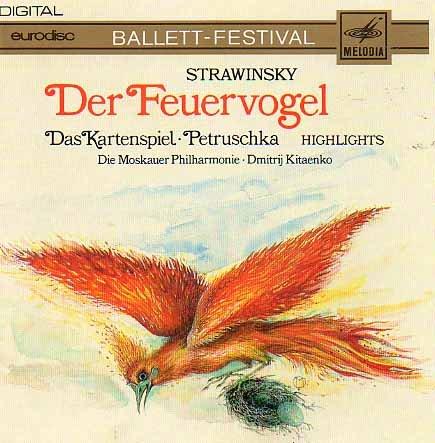 Strawinsky DER FEUERVOGEL - Das Kartenspiel -  Petruschka (Highlights)