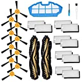 SODIAL Accessories Kit for Ecovacs Deebot N79S N79 Robotic Vacuum Cleaner Filters,Side Brushes,Main
