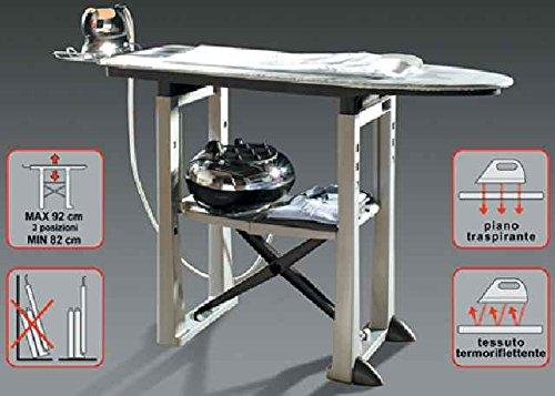 Tabla de planchar termorreflectante, transpirable, regulable, profesional, modelo BAM005