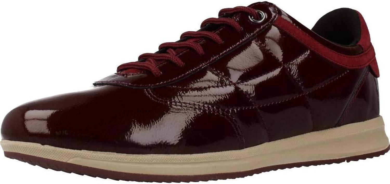 Geox Damen Laufschuhe, Farbe Burgund, Marke, Modell Damen Laufschuhe Laufschuhe D94H5C Burgund  billig und hochwertig