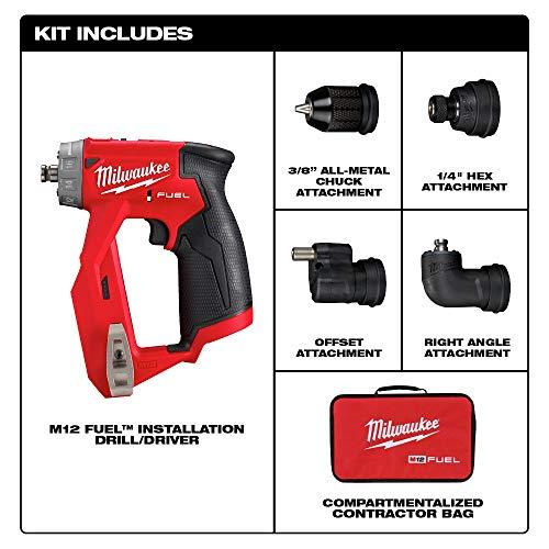 Milwaukee 2467-20 M12 1//4 Hex Rai Driver tool Only