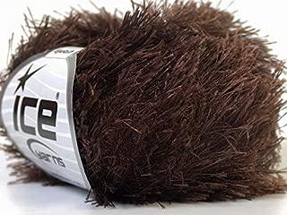 Best eyelash yarn brown Reviews