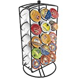 K-Cup Carousel Perfect Kitchen Counter Top Storage Display Solution Coffee Swivel Organizer - Holds 30 Cups