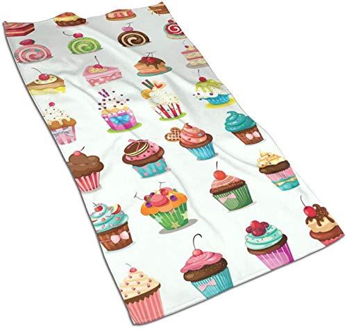 Toallas para Platos Cup Cakes Caramelos Toallas de Cocina para secar, Limpiar, cocinar, Hornear
