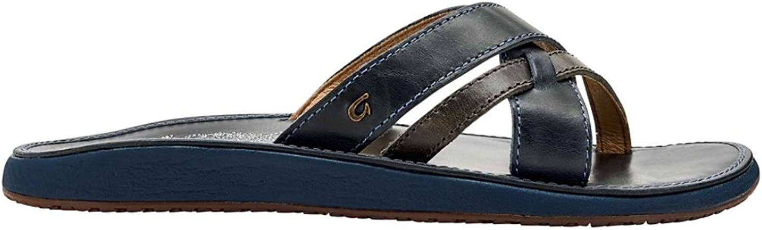 OluKai Womens Paniolo Slide Grey