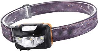 FLAMEER Linterna Frontal Impermeable Recargable para al Aire Libre