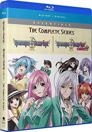 Rosario & Vampire: Complete Series (4 Blu-Ray) [Edizione: Stati Uniti]