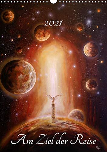 Am Ziel der Reise (Wandkalender 2021 DIN A3 hoch): Ein Ausflug durch die verschiedenen Stationen unser aller Leben. (Monatskalender, 14 Seiten )