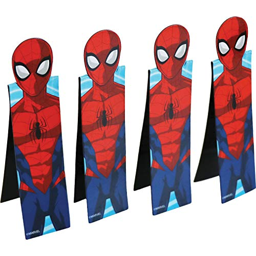 Amscan International 9902783 BookmarkSpiderman 3D Mag Bladwijzers