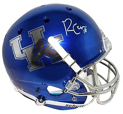 Randall Cobb Autographed Kentucky Wildcats Chrome Full Size Helmet Beckett - Beckett Authentication - Autographed College Helmets
