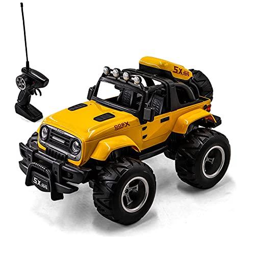 Modelo de automóvil Modelo de control remoto Coche Off-Road Vehículo Montaña Bicicleta de alta velocidad Mano de alta velocidad Control remoto ligero Anti-caída 1:14 Niño de juguete para niños