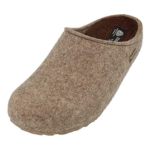 Haflinger Michel, Pantoffeln, Unisex-Erwachsene, Filz aus Wolle-41 EU-Eige Orf 550