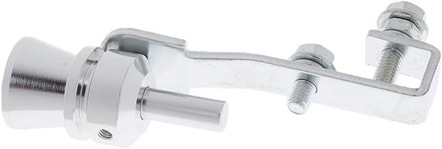 Homyl Silencioso Silenciador Turbo Sound Whistle Simulator Whistler Rojo Talla XL - Plata M